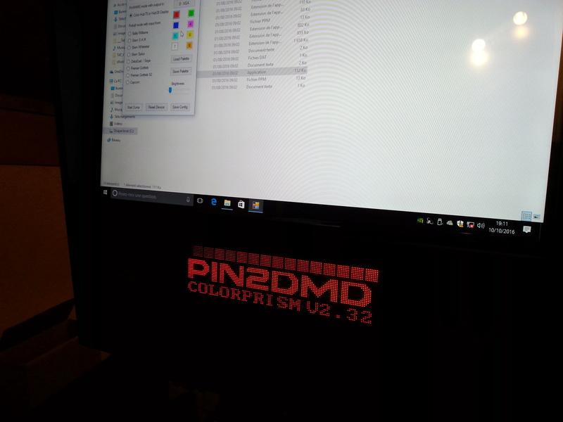 [RÉSOLU] Pin2DMD - PinDMD not found 20161041