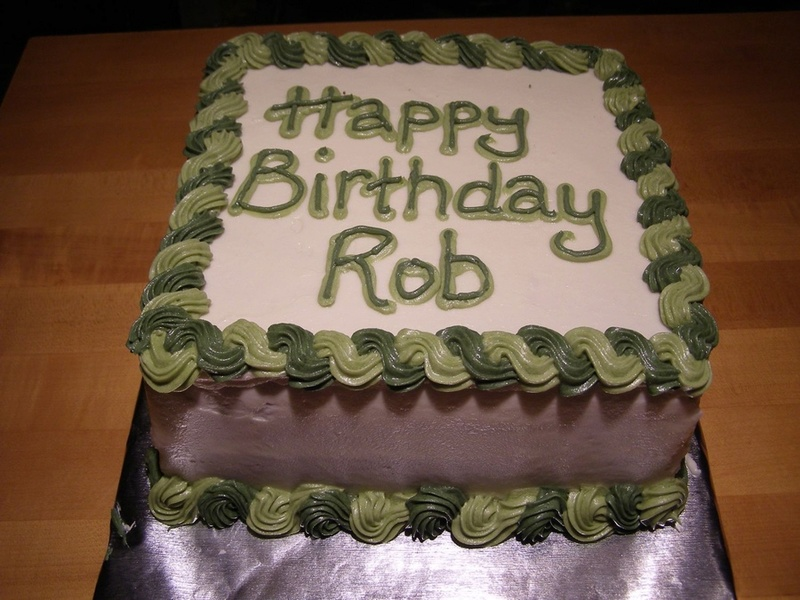 Happy birthday, Rob!  900x9010