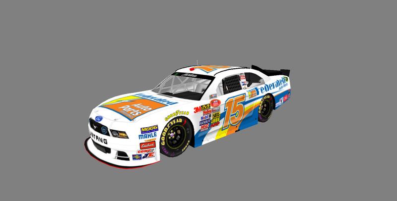 2017 Hardee's National Series Cars Carvie19