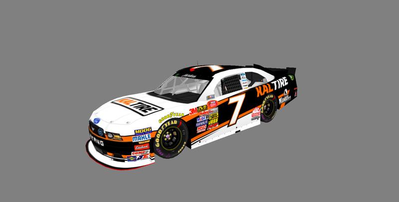 2017 Hardee's National Series Cars Carvie22