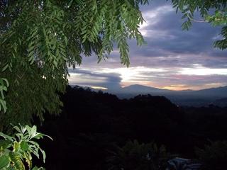 Volcano erupts sending rocks and ash 4km high. 100_4111