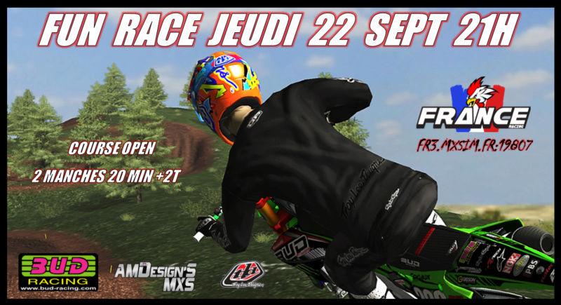 FUN RACE Jeudi 22 Septembre 2016 Affich11