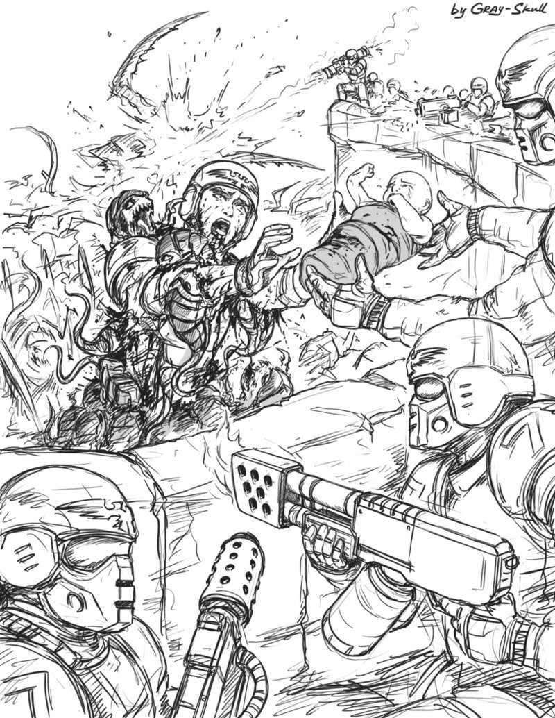 [W40K] Collection d'images : La Garde Impériale - Page 7 110