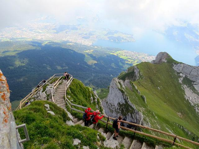 """Notre """"Grand Tour de Suisse"""" ... Lucerne-Pilatus Img_4014"""