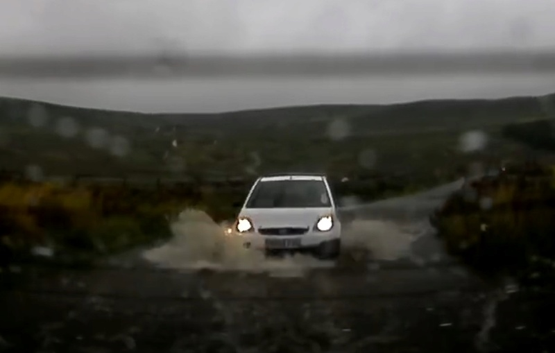 My wee beastie at the buttertubs Puddle16