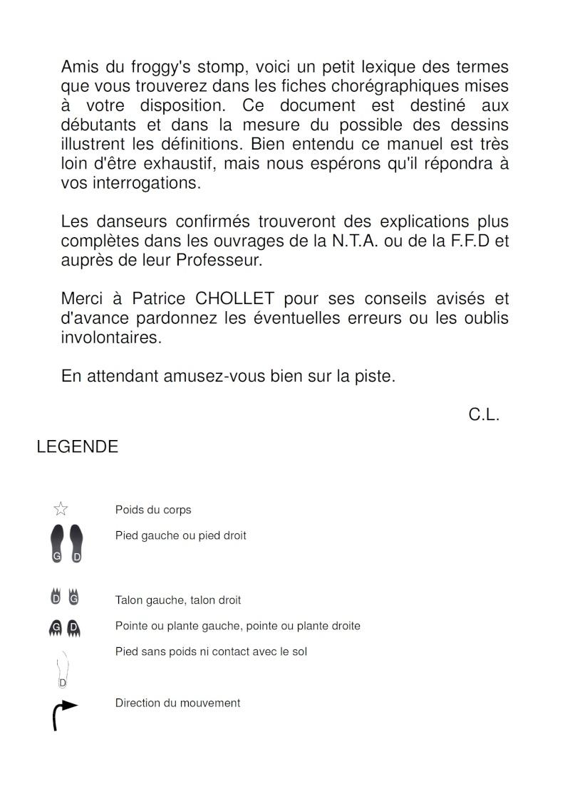 LEXIQUE DES PAS DE DANSE COUNTRY EN LIGNE 214