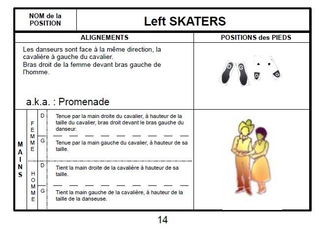 LEXIQUE DES PAS. danse en couple 2610