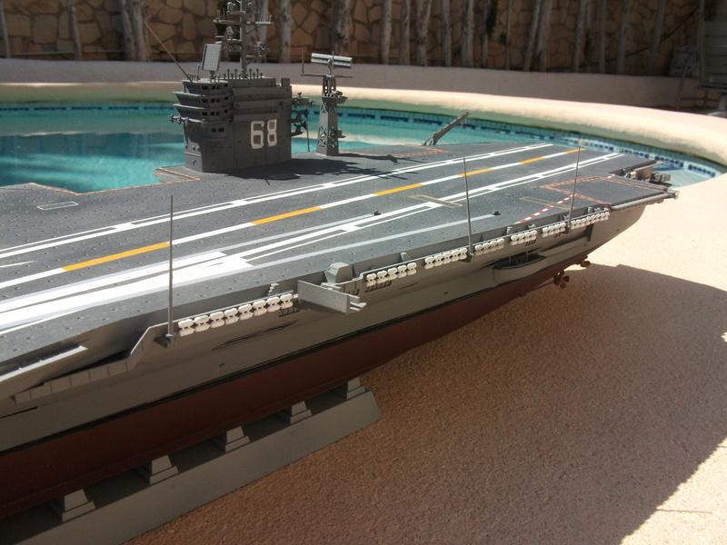 USS NIMITZ 1/350 TRUMPETER Dscf2319
