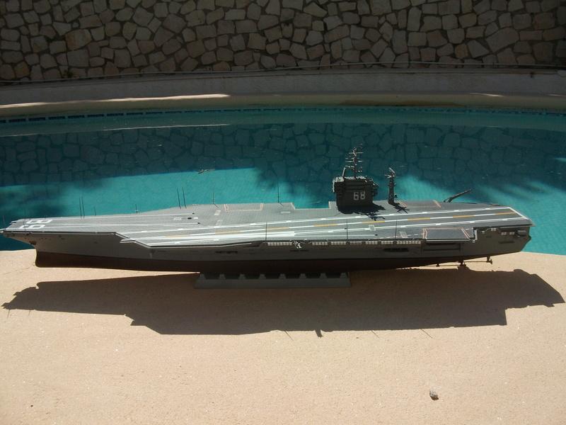 USS NIMITZ 1/350 TRUMPETER Dscf2325