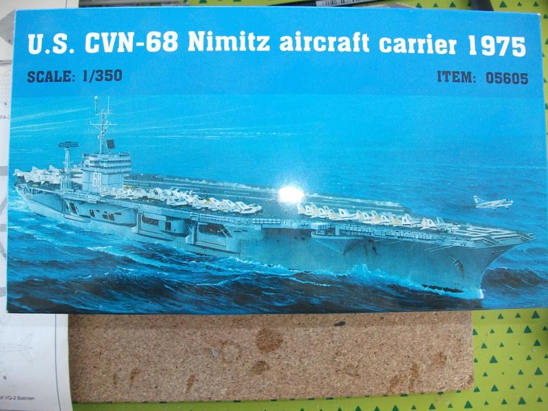 USS NIMITZ 1/350 TRUMPETER Dscf2417