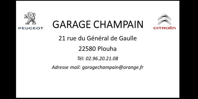 Garage CHAMPAIN PEUGEOT & CITROEN à PLOUHA  Sans_152