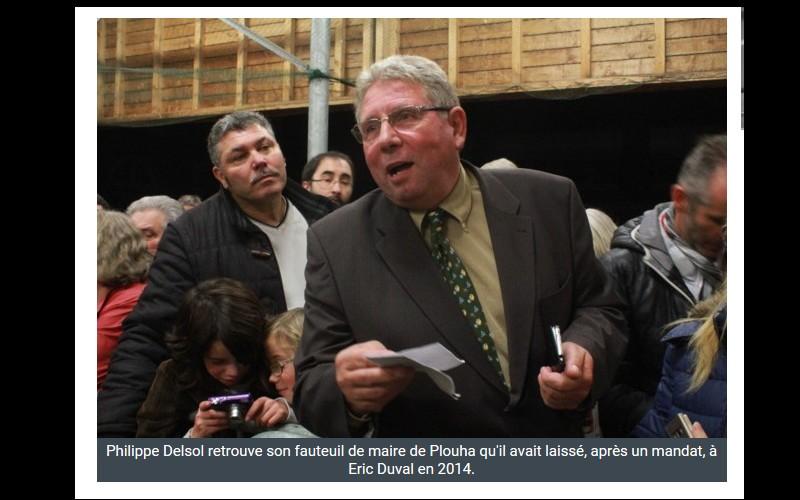 Municipales. Ph. Delsol l'emporte avec 61,92 % des voix Sans_466