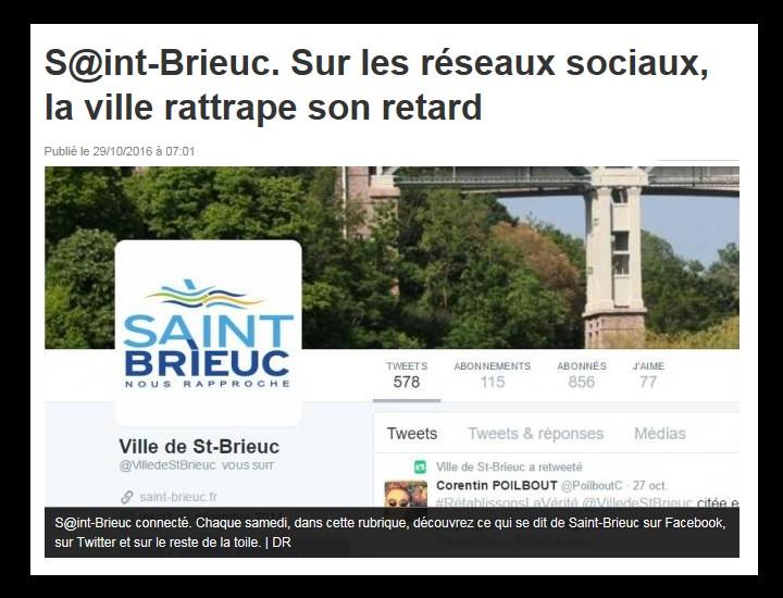 S@int-Brieuc. Sur les réseaux sociaux, la ville rattrape son retard Sans_490