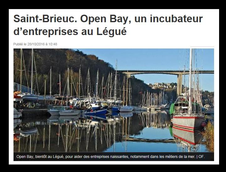 Saint-Brieuc. Open Bay, un incubateur d'entreprises au Légué Sans_493