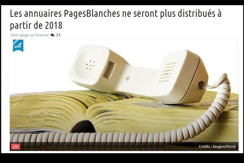 RAPPEL /   Les annuaires PagesBlanches ne seront plus distribués à partir de 2018 Sd14