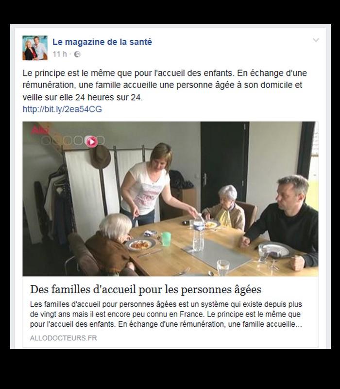 Des familles d'accueil pour les personnes âgées Sd15