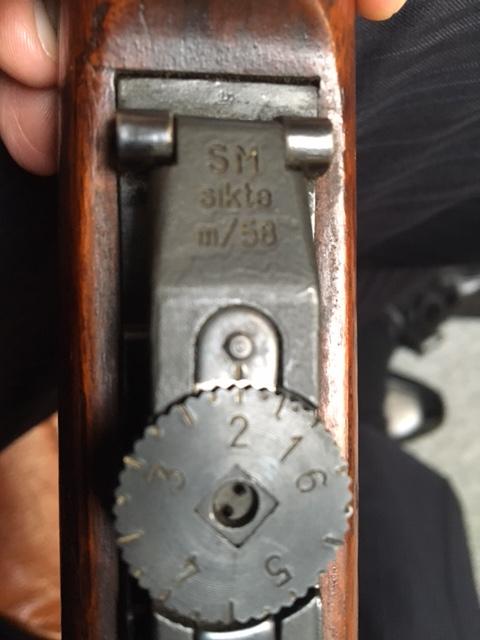 Un nouveau mauser suédois sur le forum !  - ex sujet Choix cornélien entre 3 Mauser suédois Img_0115