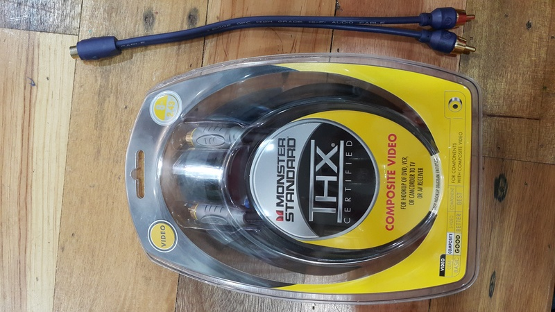 Monster Cable For Subwoofer (used) 20161015