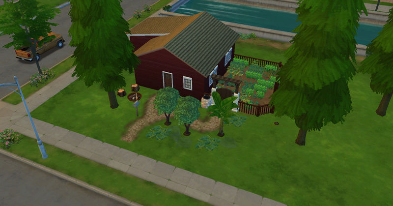 [Challenge Jardin-Ecolo-Sims] Les Laterre ! 21-10-11