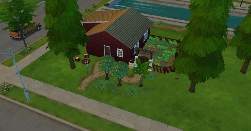 [Abandon] Challenge Jardin-Ecolo-Sims : Les Laterre ! 21-10-11