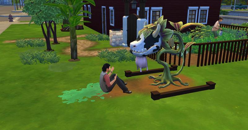 [Abandon] Challenge Jardin-Ecolo-Sims : Les Laterre ! 28-10-10