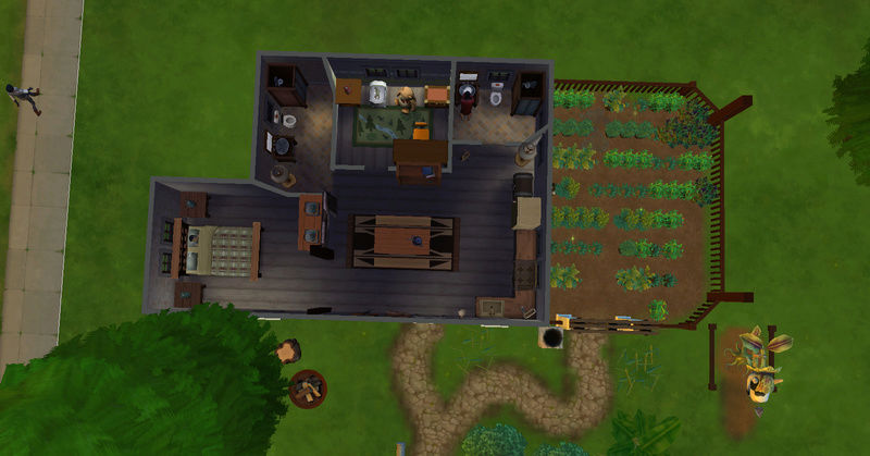 [Challenge Jardin-Ecolo-Sims] Les Laterre ! 28-10-11