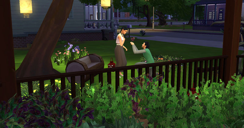 [Challenge Jardin-Ecolo-Sims] Les Laterre ! 30-10-13