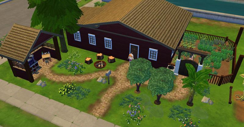 [Abandon] Challenge Jardin-Ecolo-Sims : Les Laterre ! 30-10-14