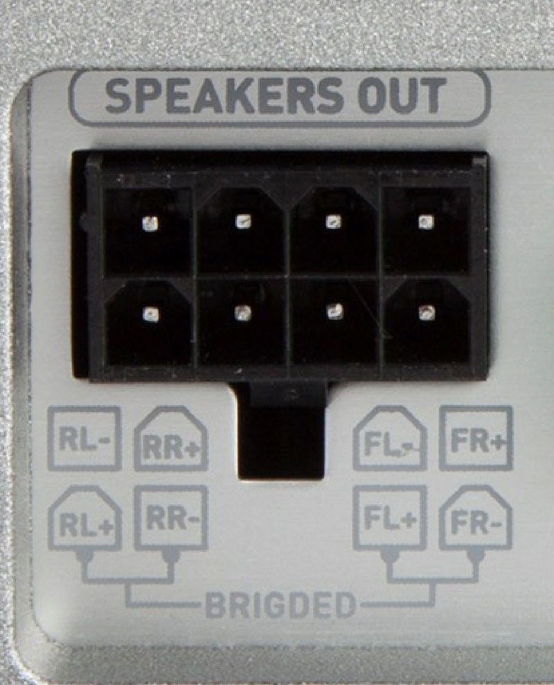 hifi car collegare 2 amplificatori  Bridge10