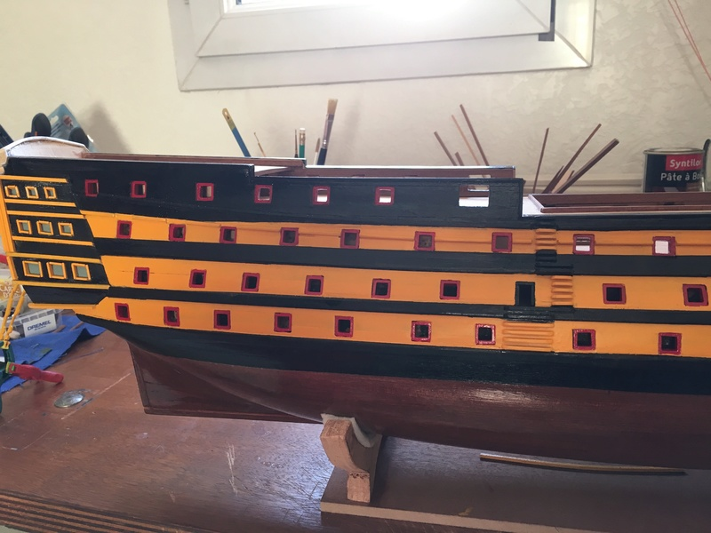 HMS VICTORY de chez Constructo au 1/94e Img_1016
