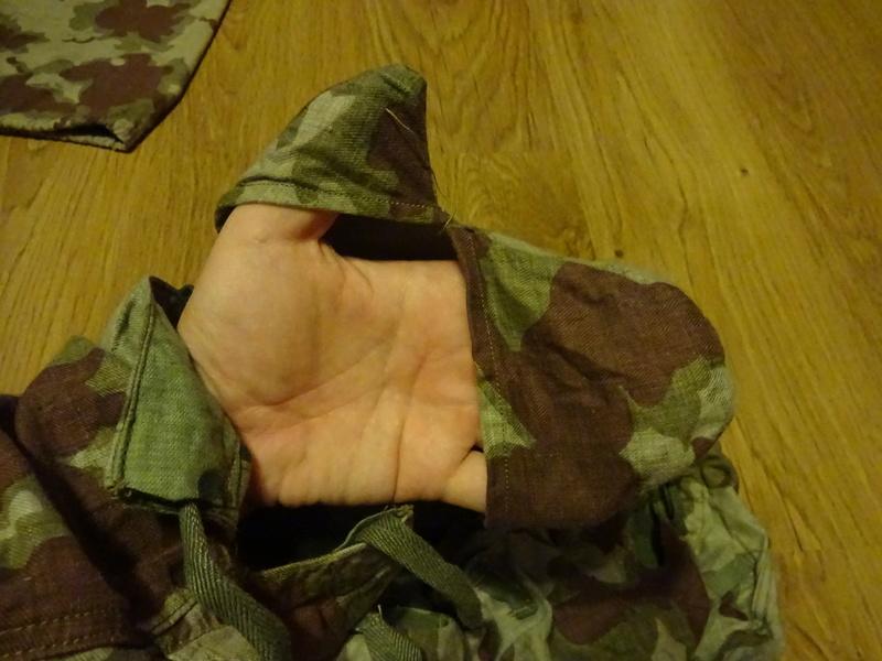 Summer camouflage oversuit with spots - variant 1 - 4 (Letní maskovací oděv se skvrnami - varianta 1 - 4) Dsc02211