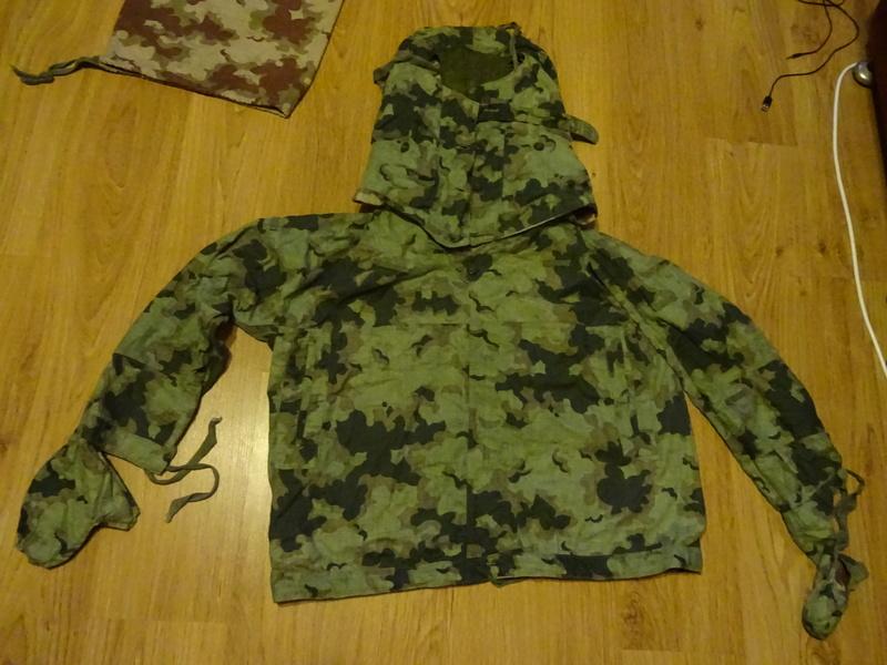 Summer camouflage oversuit with spots - variant 1 - 4 (Letní maskovací oděv se skvrnami - varianta 1 - 4) Dsc02215