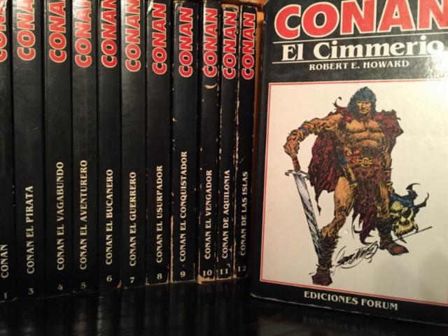 Las novelas de Conan. Ediciones españolas 19808310