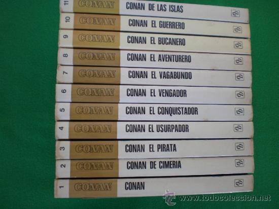 Las novelas de Conan. Ediciones españolas 29993210