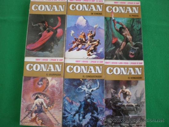 Las novelas de Conan. Ediciones españolas 29993211