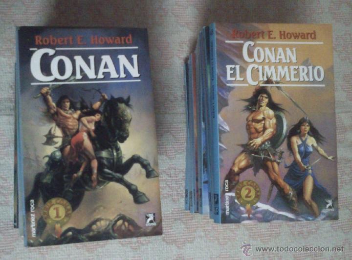 Las novelas de Conan. Ediciones españolas 53125810