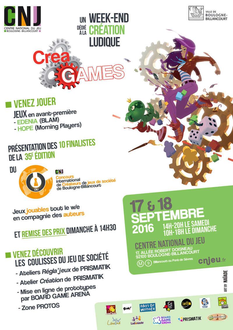 Centre Ludique de Boulogne-Billancourt (CLuBB) - Page 3 Affich10