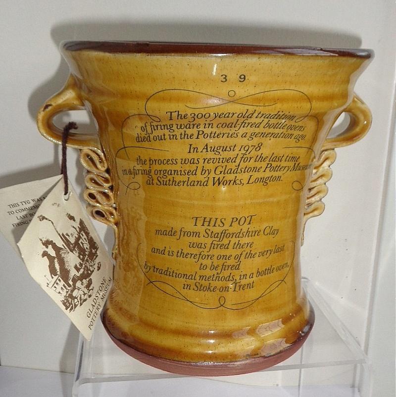 Treacle Glazed Jug - Gladstone Museum Pottery Tyg110