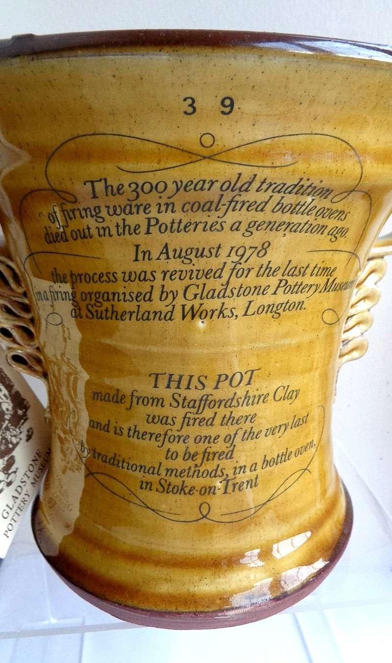 Treacle Glazed Jug - Gladstone Museum Pottery Tyg210