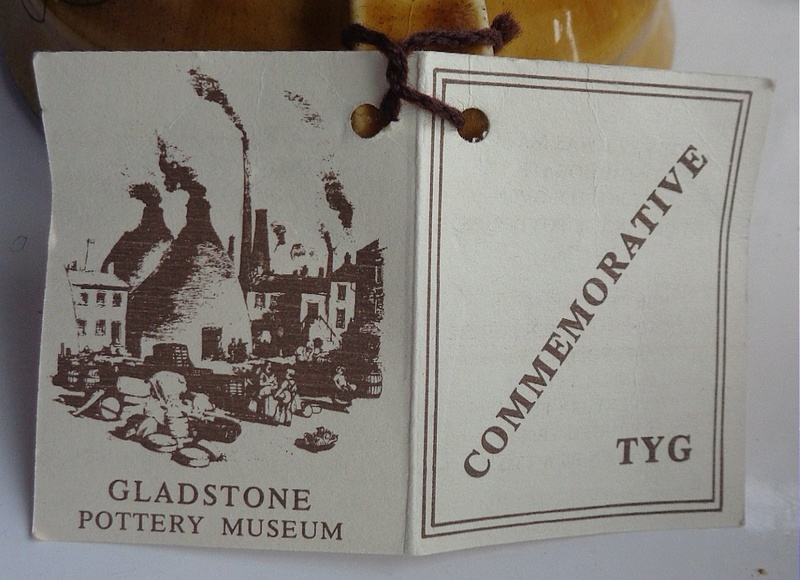 Treacle Glazed Jug - Gladstone Museum Pottery Tyg410