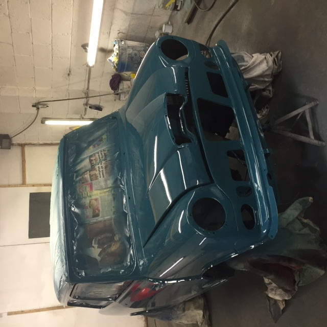Bodywork re work, Space Wanted. Paint_10