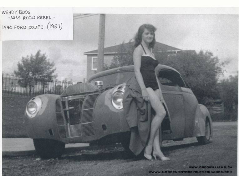 "Hot rod in street - Vintage pics - ""Photos rétros"" -  - Page 5 13442310"