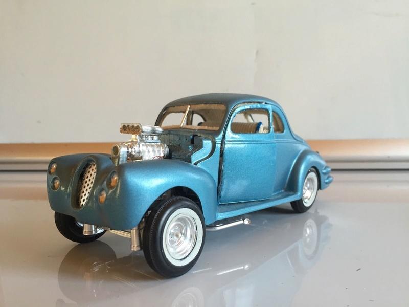 Vintage built automobile model kit survivor - Hot rod et Custom car maquettes montées anciennes - Page 6 137