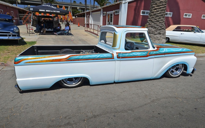 Ford Pick up 1958 - 1966 custom & mild custom - Page 2 14207610
