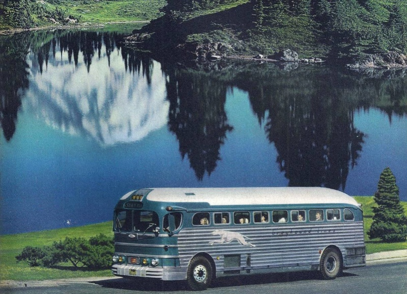 Greyhound Bus lines - Vintage pics 14289910
