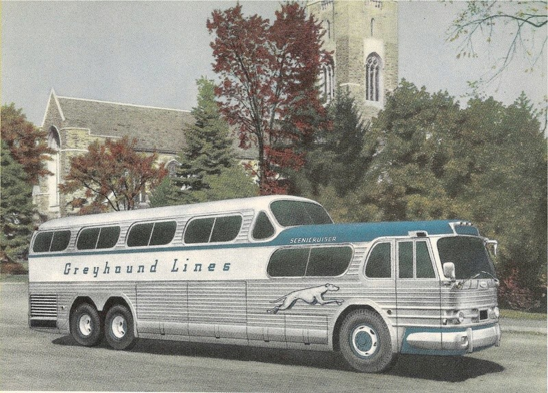 Greyhound Bus lines - Vintage pics 14310510