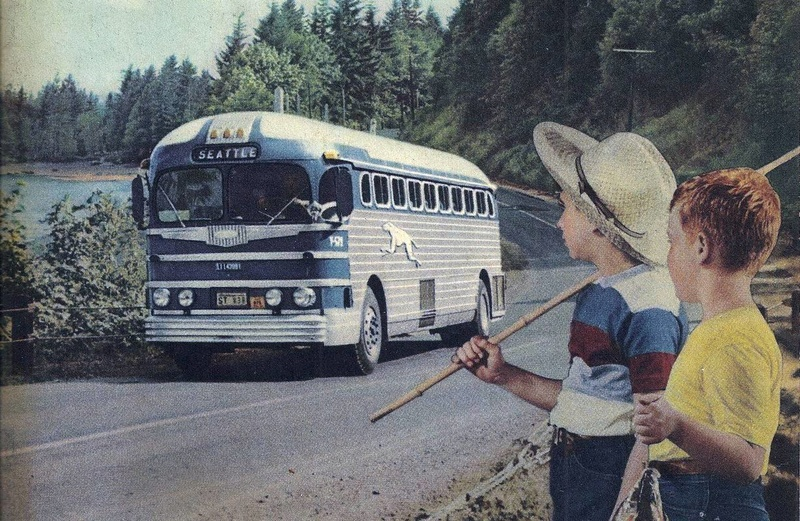 Greyhound Bus lines - Vintage pics 14311210