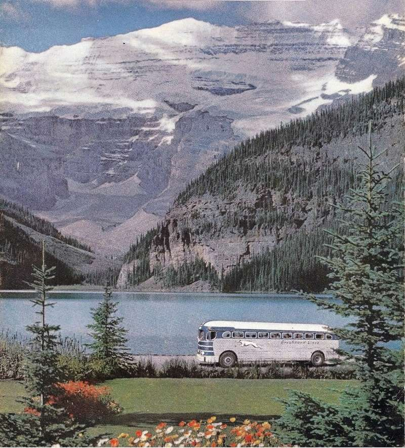 Greyhound Bus lines - Vintage pics 14322711