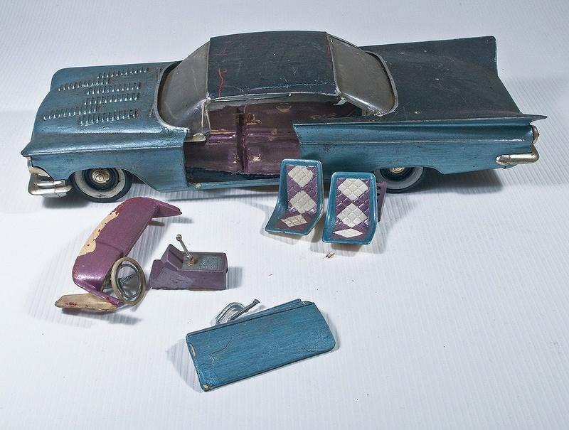 Vintage built automobile model kit survivor - Hot rod et Custom car maquettes montées anciennes - Page 6 14379910