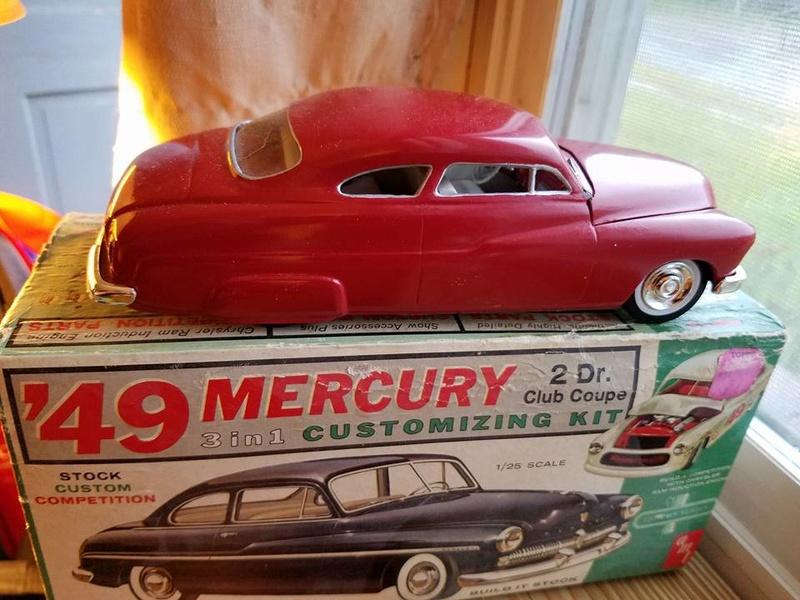 Vintage built automobile model kit survivor - Hot rod et Custom car maquettes montées anciennes - Page 6 14440612